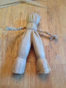 Male corn dolly